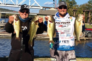 Joey Nania with Partners Spina and Gossett Win Sylacauga Marine Big Bucks Buddy Championship!