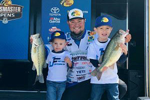 Joey Nania 7th Place After Solid Day One Bassmaster Central Open #2 Arkansas River – Muskogee, OK